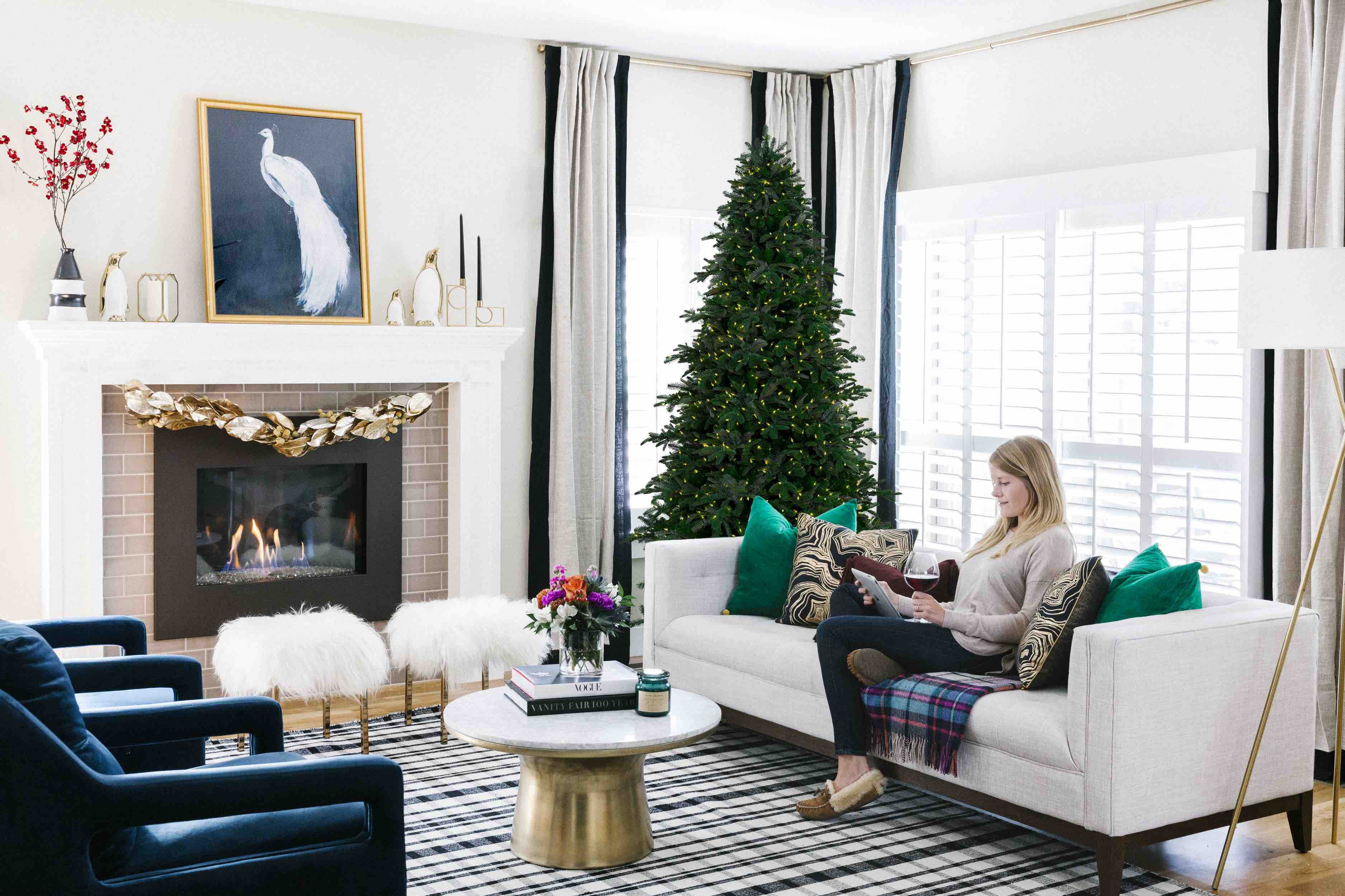 How An Interior Designer Styles for the Holidays   The Havenly Blog
