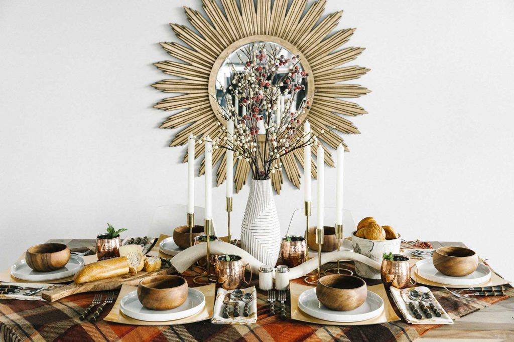 How To Style An Enchanting Fall Tablescape