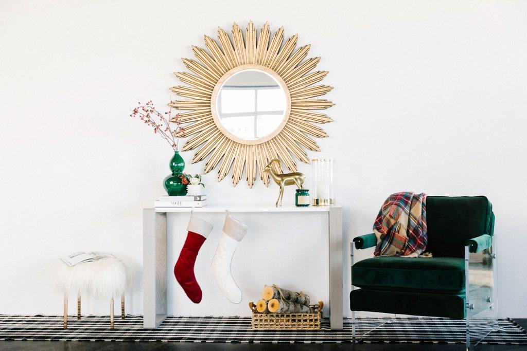 Shop The Look: A Design-Forward Holiday Entryway