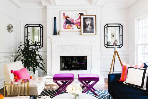 Get Fancy with Your Fireplace