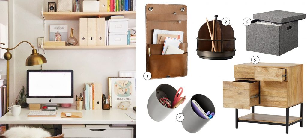 How to organize your home the pretty way the havenly blog - How to organize your desk at home ...