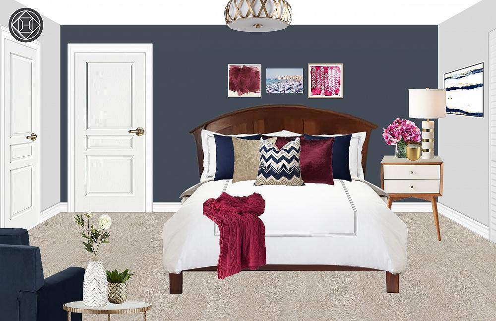 Elise Rogers bedroom
