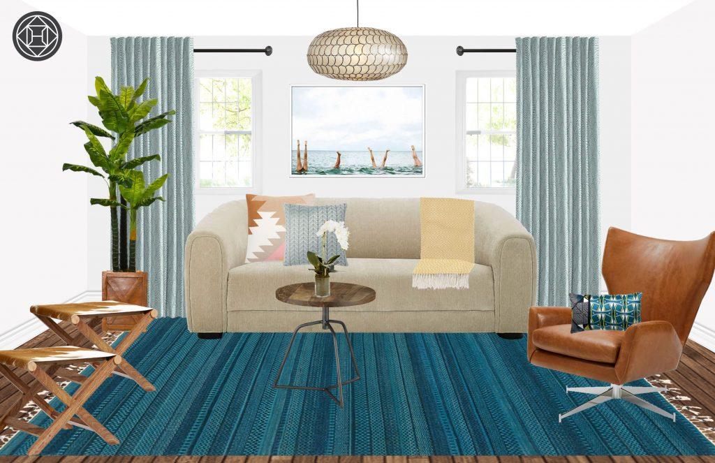 groundhog day design addition spring living room refresh