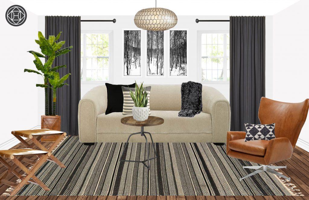 groundhog day design addition winter living room refresh