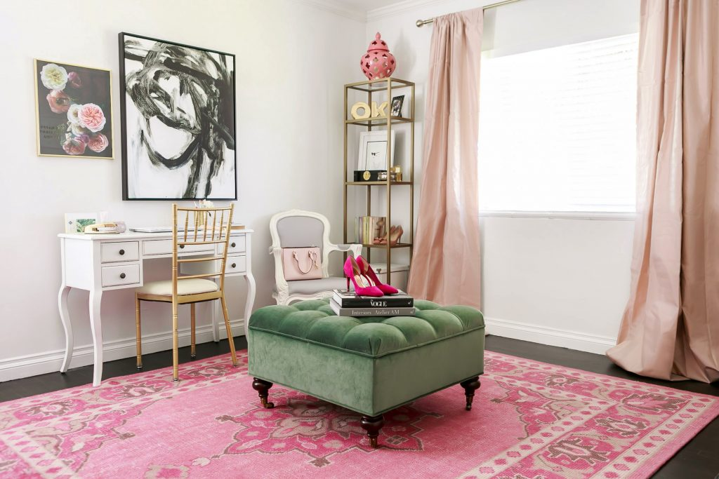 Design Story: A L.A. Style Blogger's Dream Office Makeover
