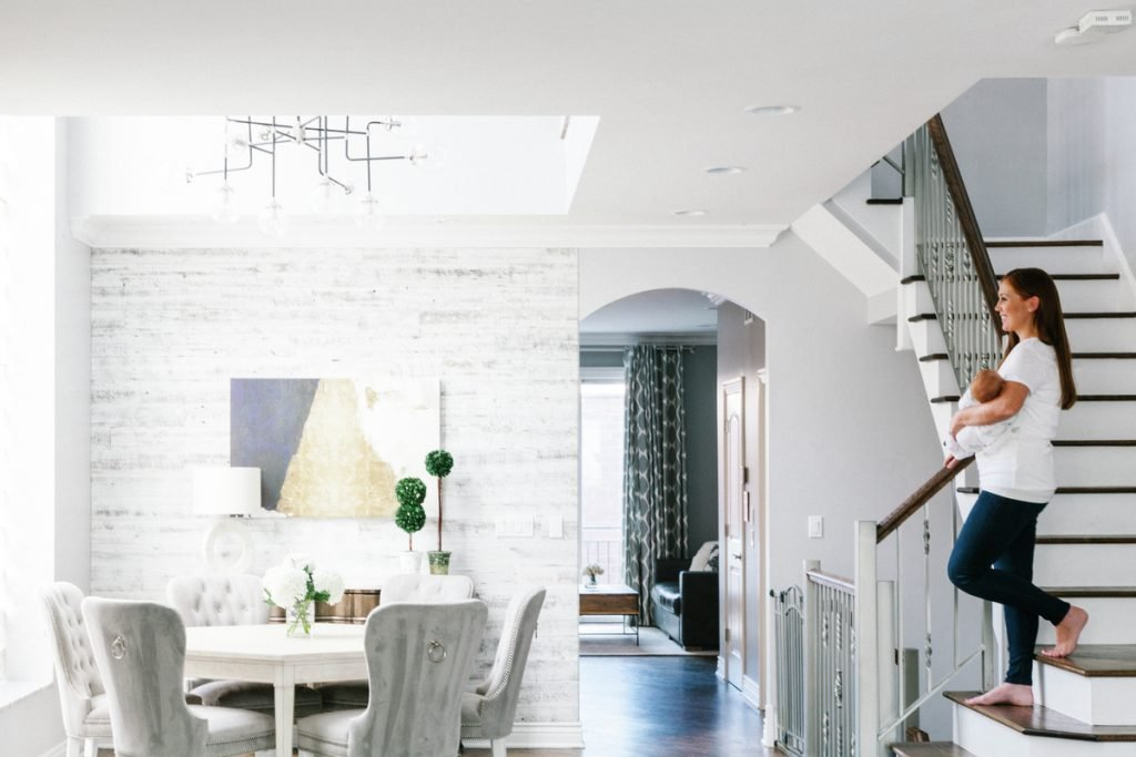 Design Story: Terrin N.'s Cozy Grey and White Chicago Home