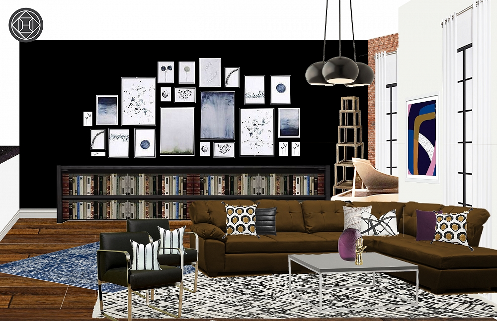 Tracie Roberson living room