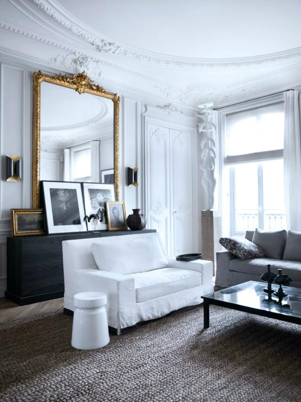 Black and White Home Inspiration Living Room