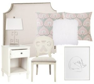 blush pink bedroom - second design idea