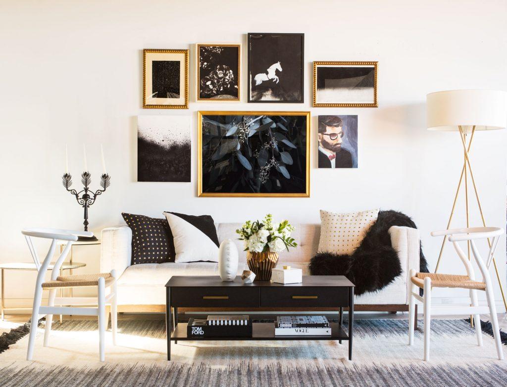 The Black & White Abode Part 4: Choosing Artwork