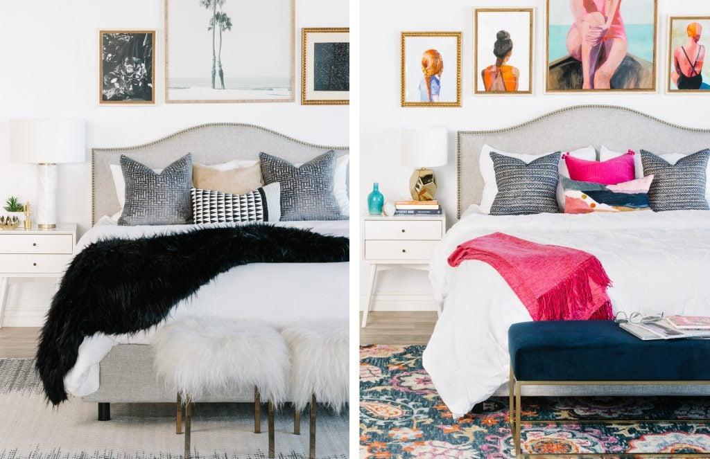 One Bedroom, Two Ways