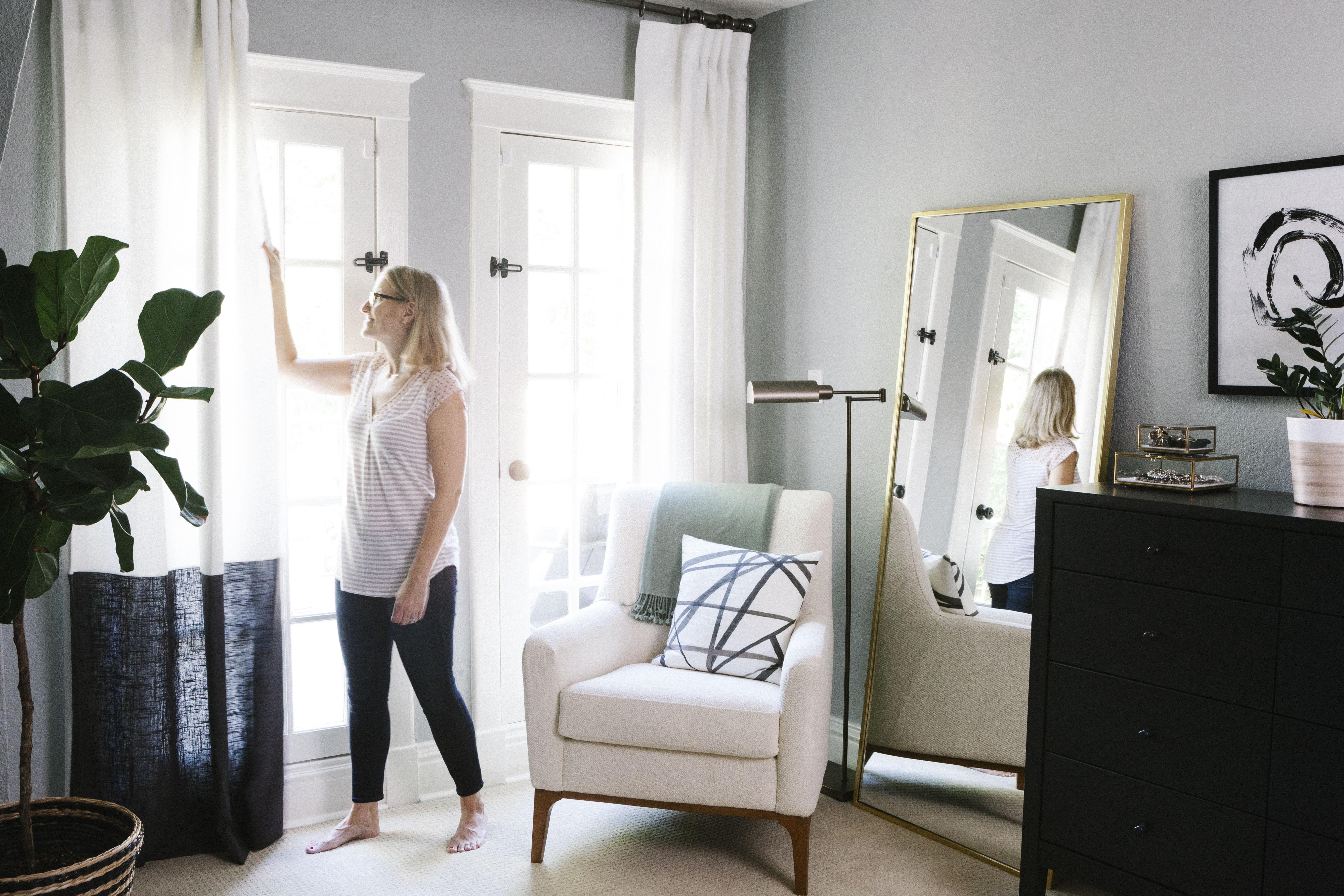 The Black & White Abode Part 5 Choosing Window Treatments