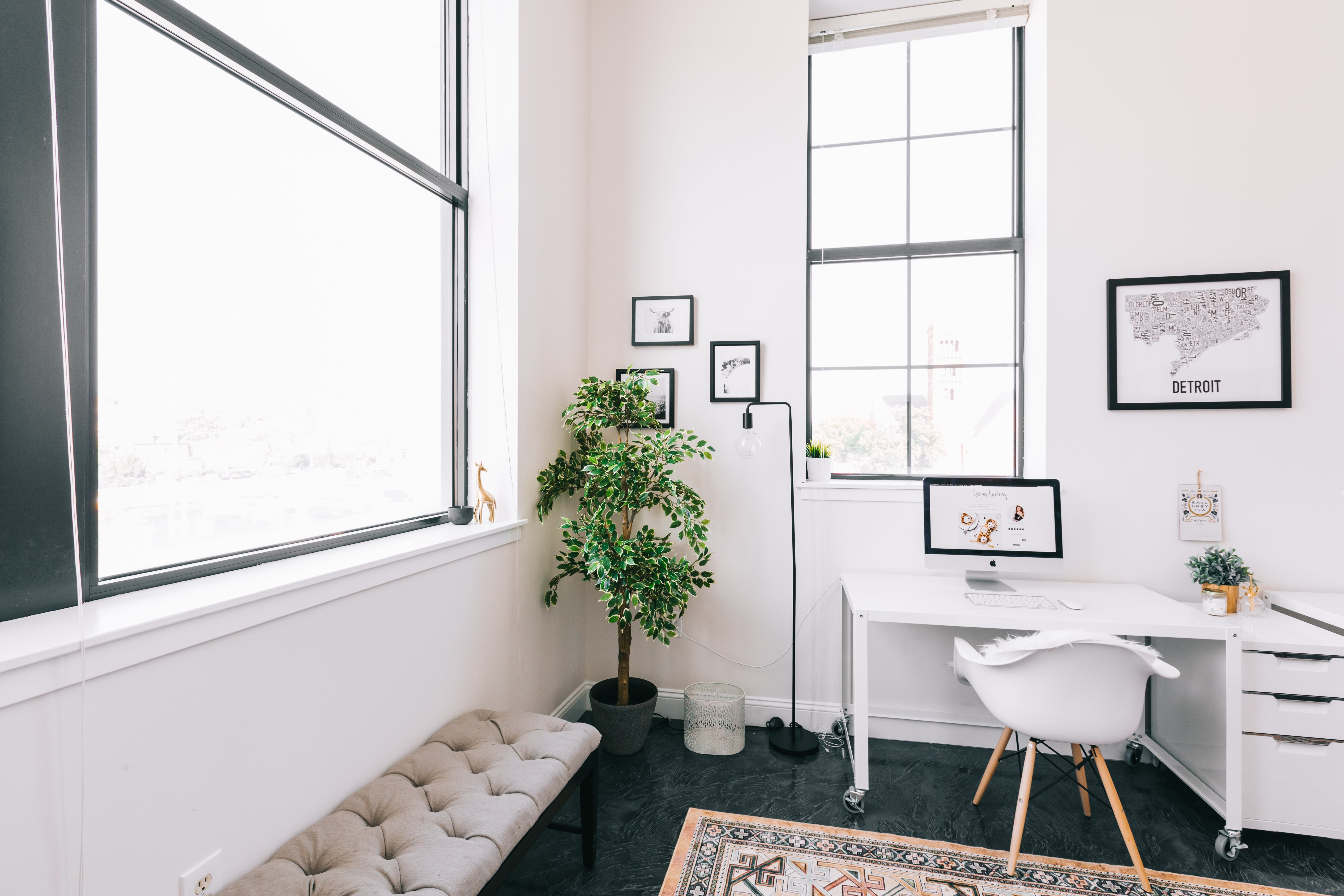 Love This Look And Ready To Have Your Own #adulting Moment? Explore Other  Minimal Office Design Ideas And Hire Your Own Online Interior Designer.