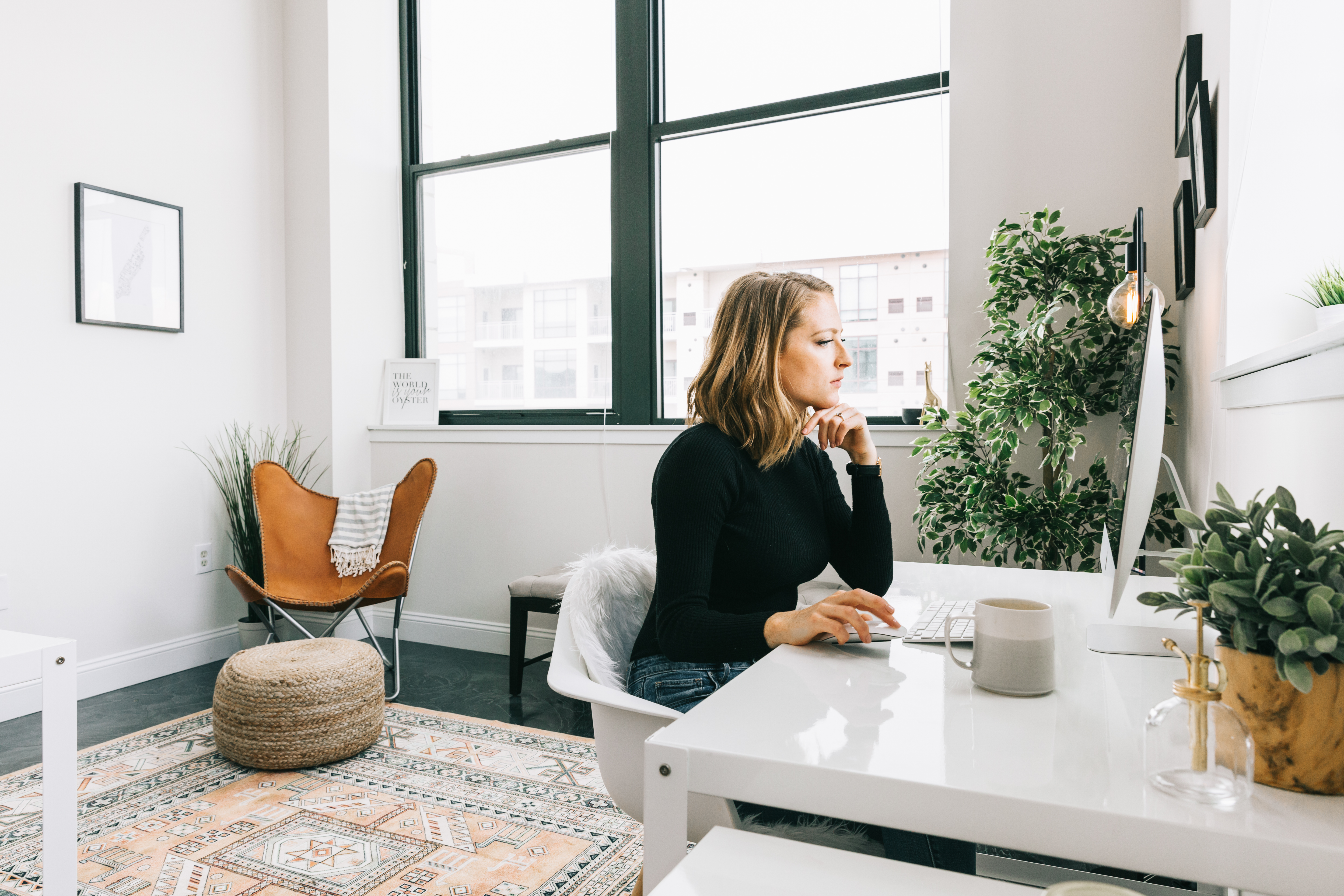 Love This Look And Ready To Have Your Own Adulting Moment Explore Other Minimal Office Design Ideas And Hire Your Own Online Interior Designer