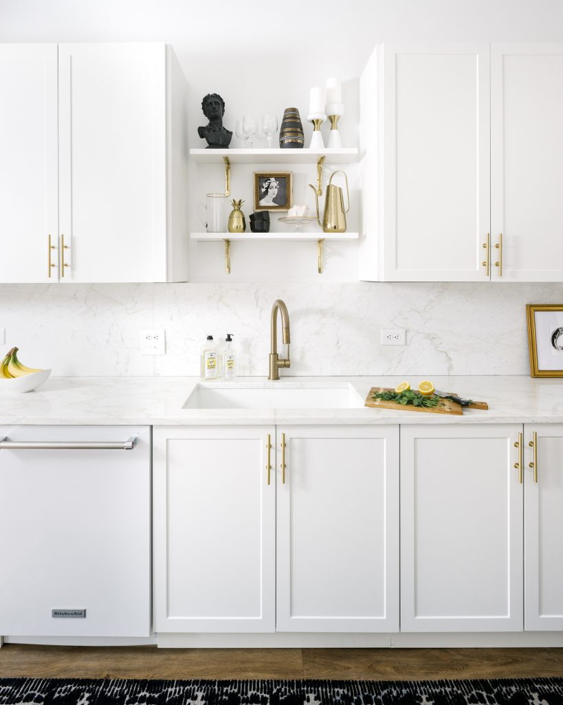 The Black & White Abode Part 6: The Kitchen | The Havenly Blog