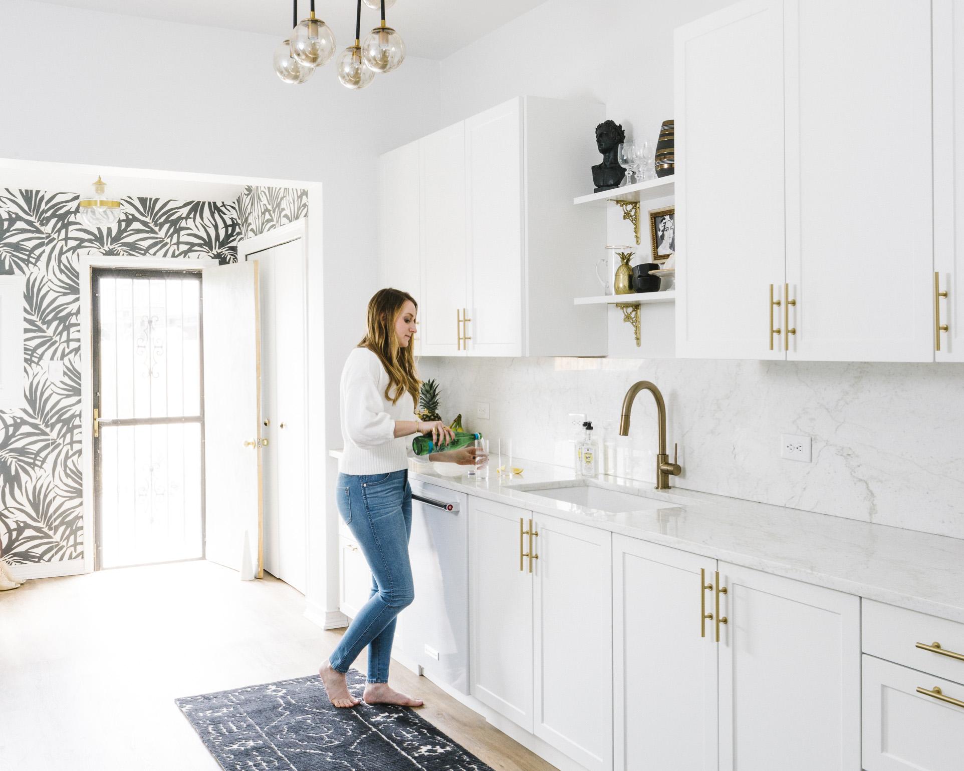 The Black & White Abode Part 6 The Kitchen