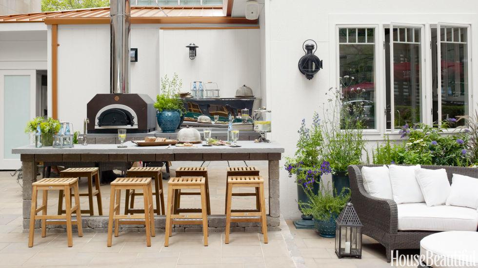 How To Create An Outdoor Kitchen U201cFeelu201d
