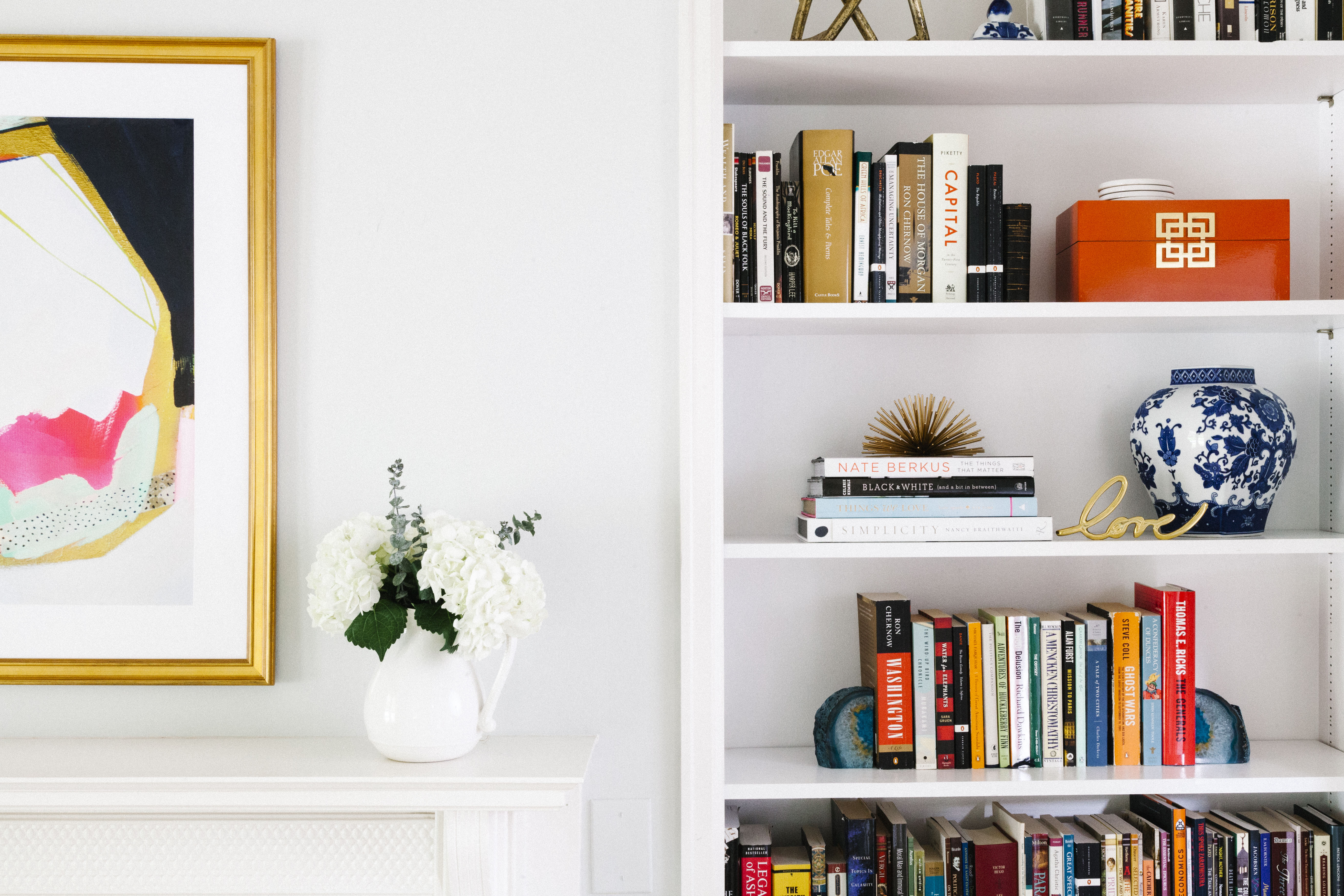 the havenly blog interior design inspiration and ideas we all want that perfectly polished yet relaxed and effortlessly styled bookcase but achieving it can be a daunting task how do you know if you have too