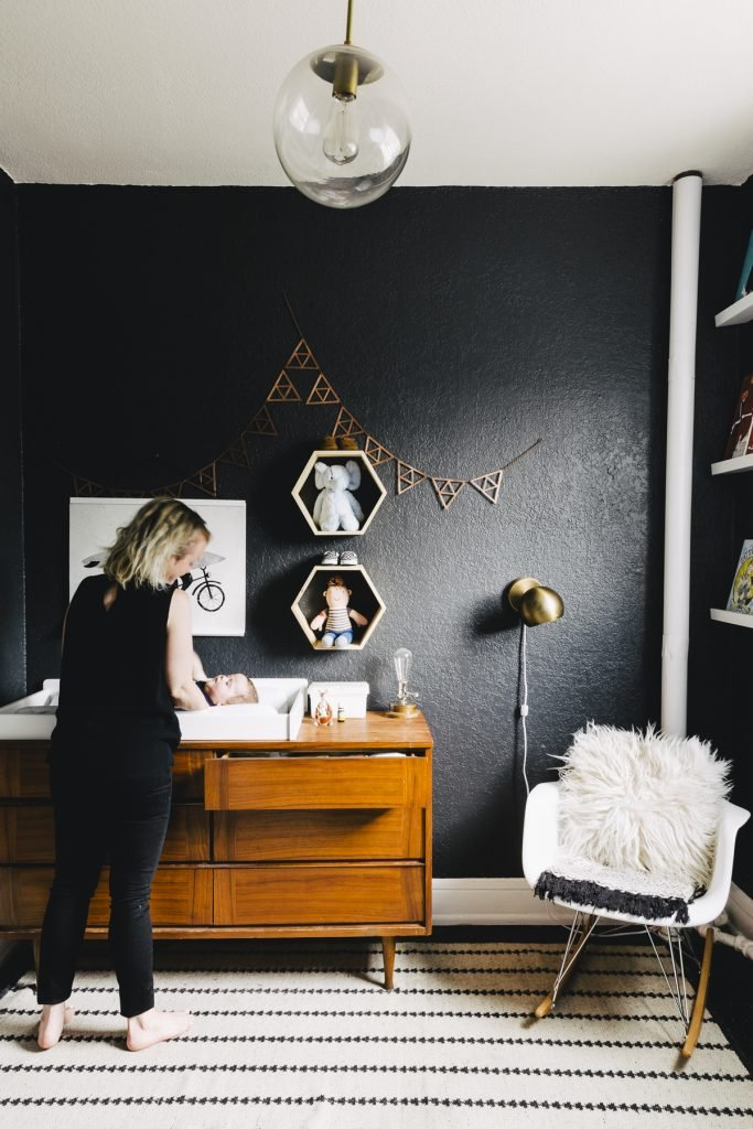 Design Story: Amy's Office to Nursery Transformation