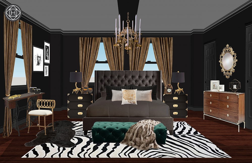 Havenly Designed Some Amazingly Spooky Rooms in Salem