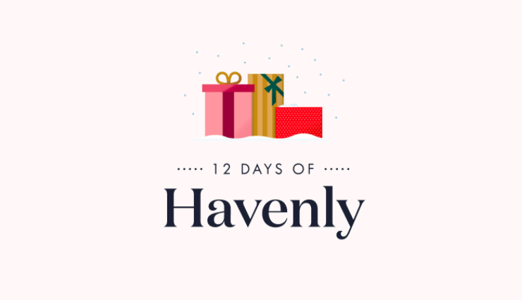 12 Days of Havenly Giveaway Guide