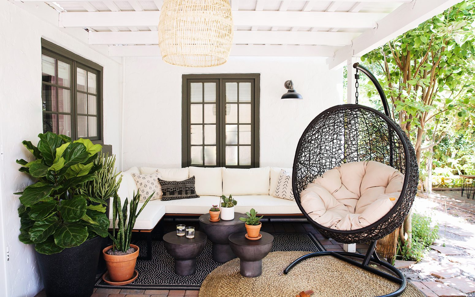 Everything you need to know about rattan furniture.