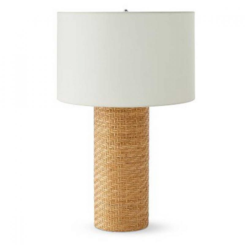 Rattan Table Lamp from Williams Sonoma