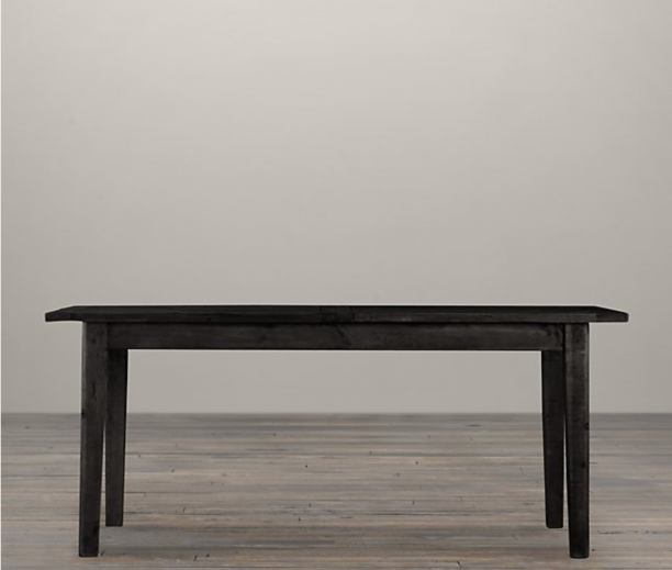 1900s Boulangerie Rectangular Extension Dining Table from Restoration Hardware, $1,595