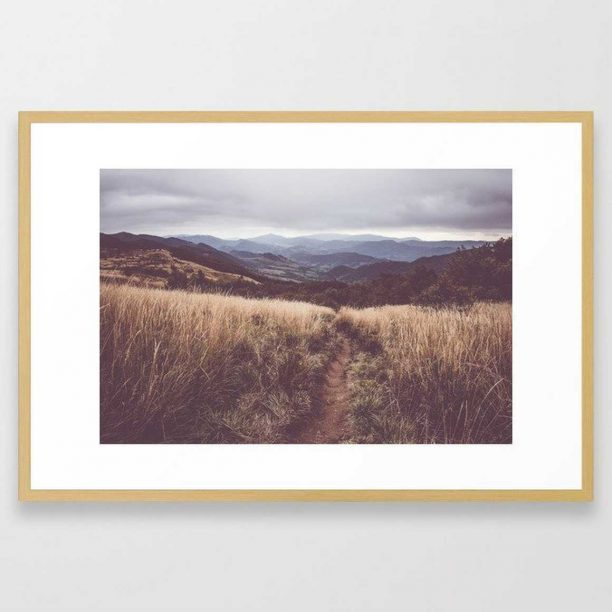 """Bieszczady Mountains - Conservation Natural (26"""" x 38') from Society6"""