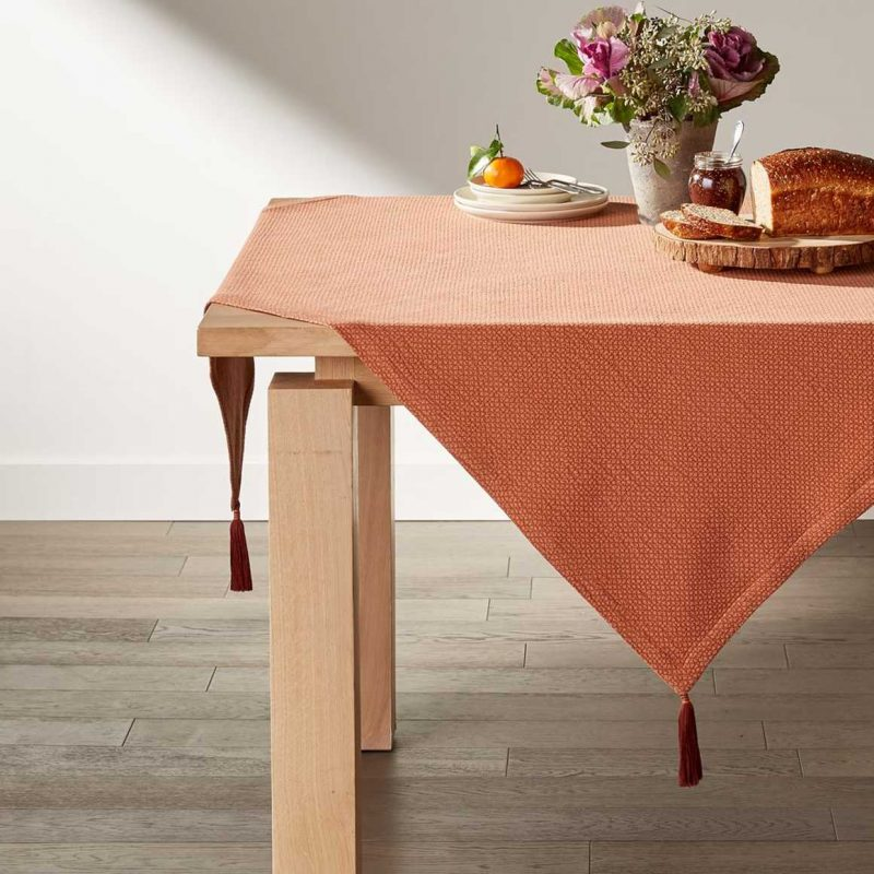 Rust Table Throw