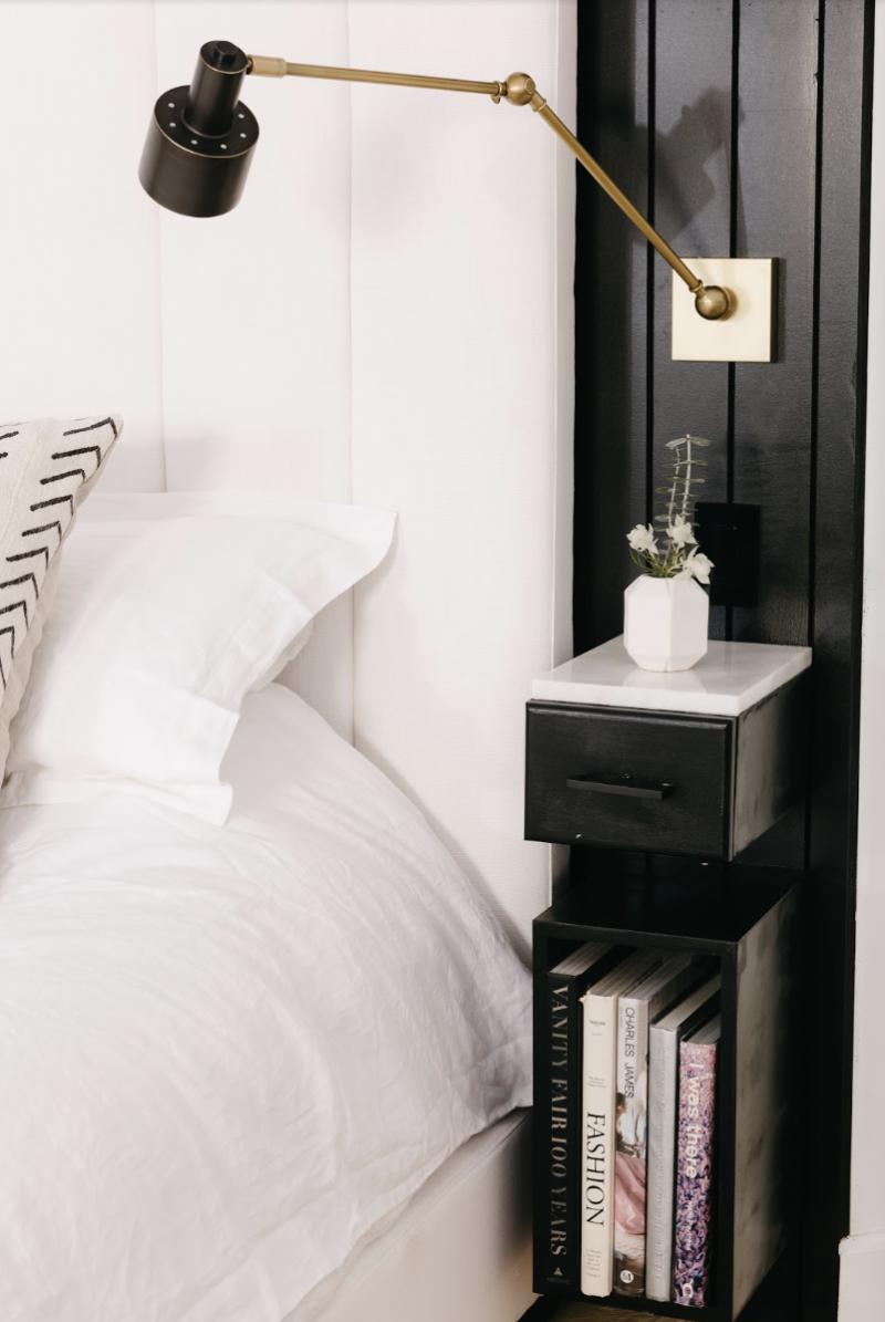 Bedroom decluttering