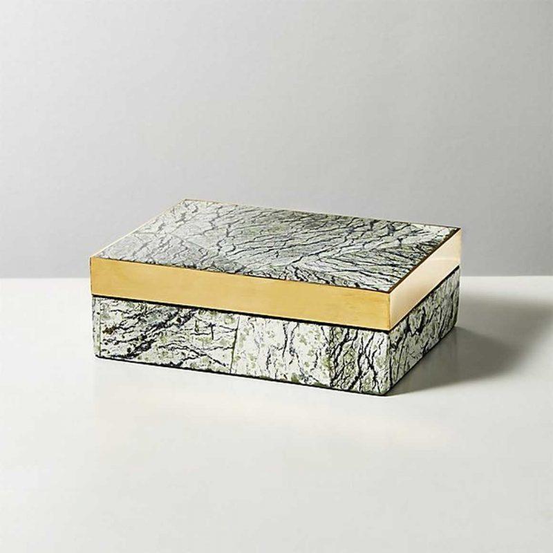 CB2 baguio stone box