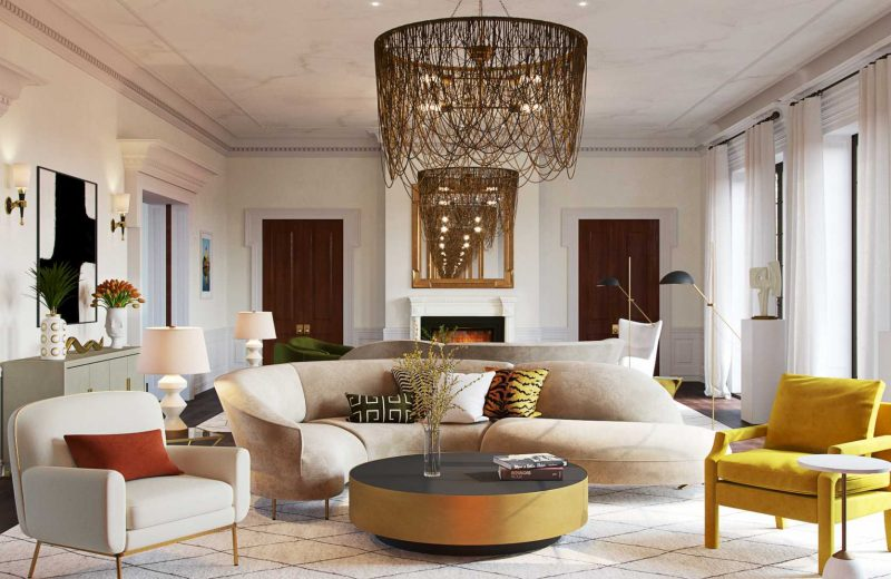 5 Ways To Create A Calm Cool Contemporary Living Room Havenly S Blog