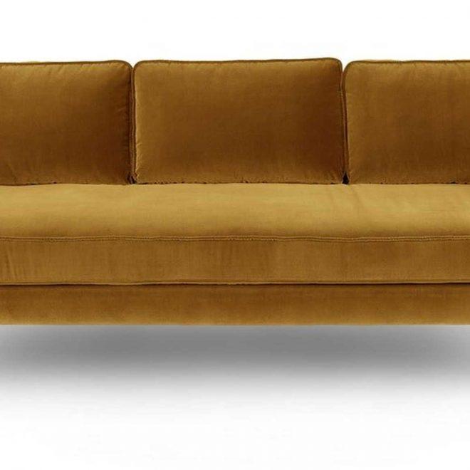 Mirage Yarrow Gold Sofa