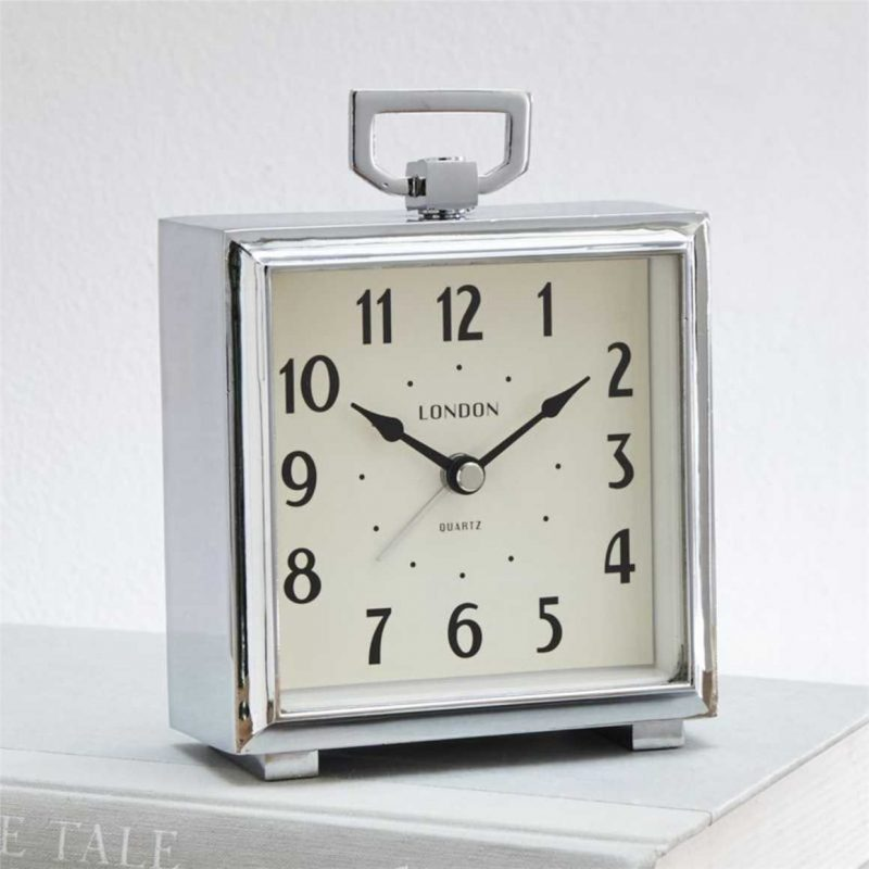 Bedside Alarm Clock from Crate and Barrel