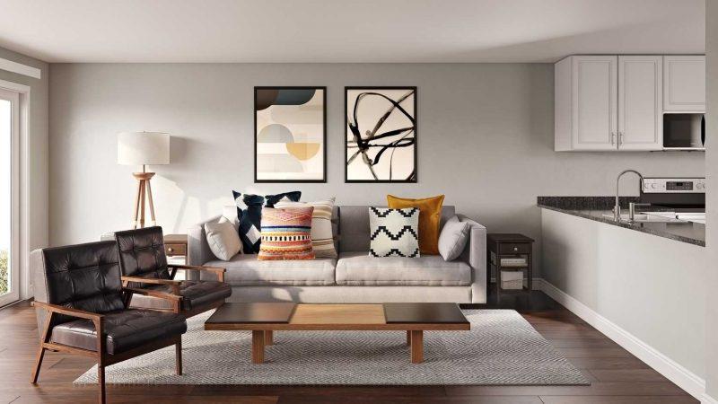 Midcentry Modern Living Room