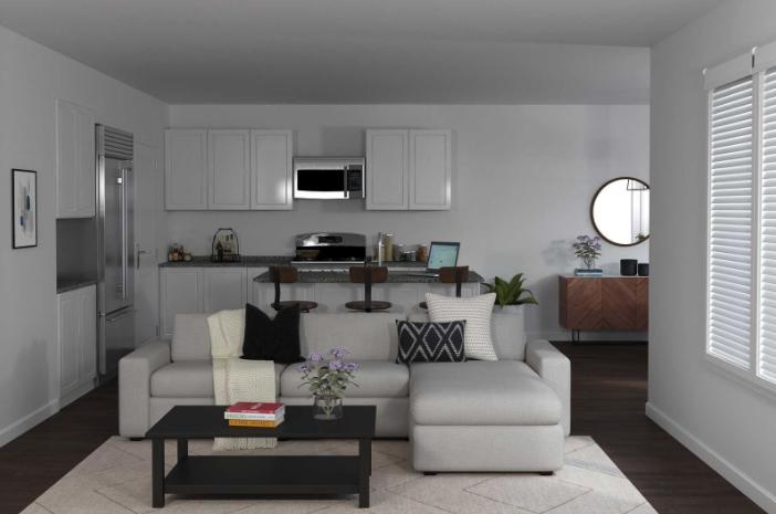 Modern living room theme