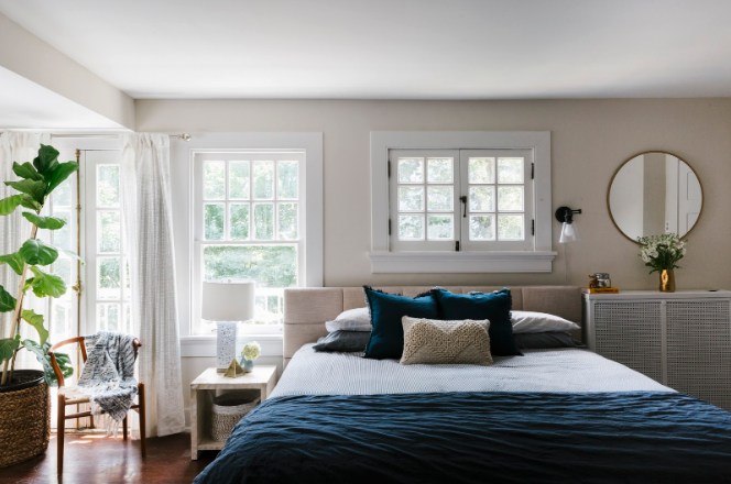 Greenery In Bedroom