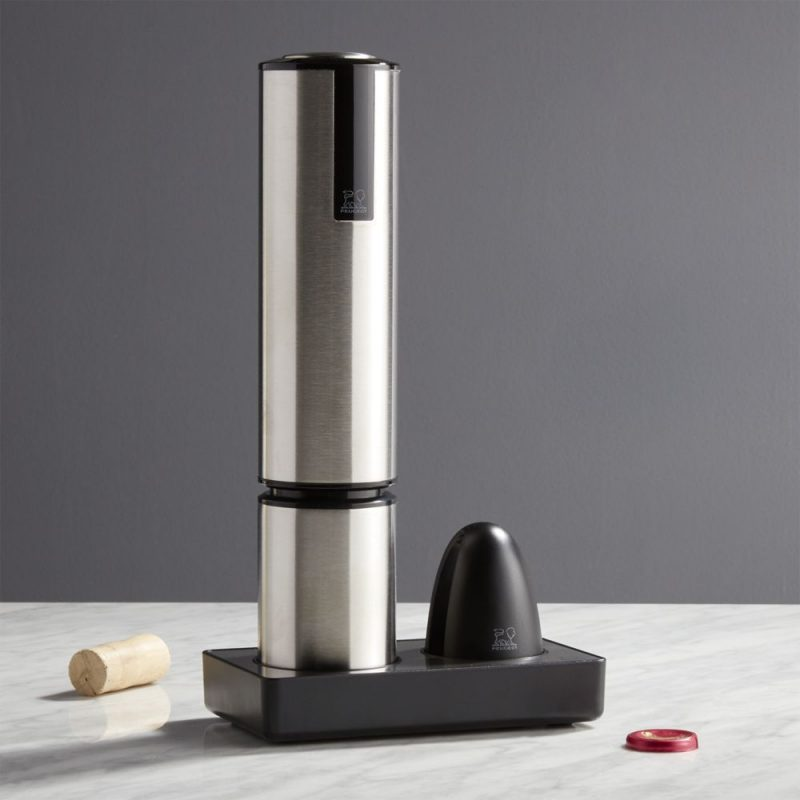 Peugeot Electric Wine Opener from crate and Barrel