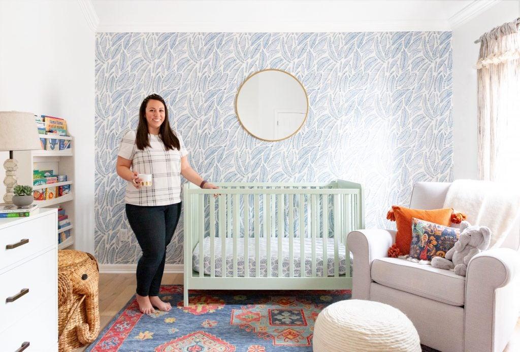 Kate's Colorful & Adventure-Inspired Nursery