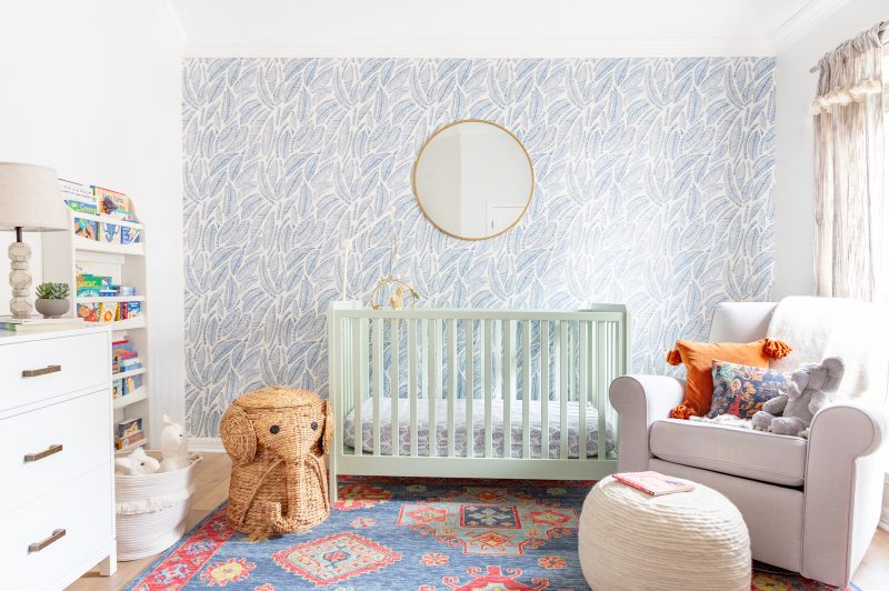 How To Use And Remove Peel And Stick Wallpaper Havenly S Blog