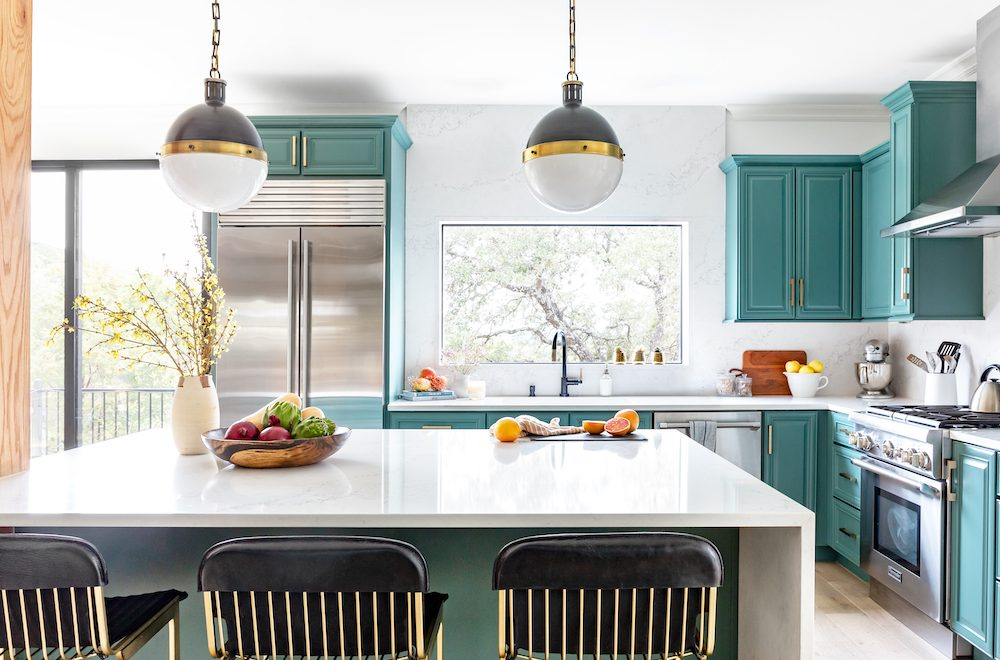 Kitchens with Painted Cabinets