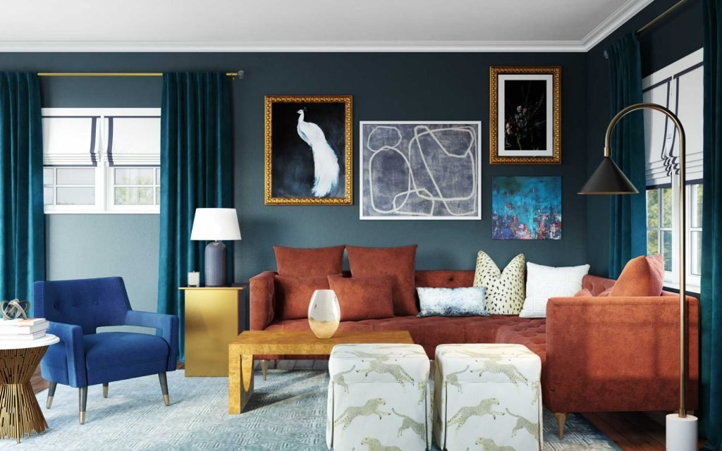 5 Eclectic Living Rooms that Still Feel Cohesive