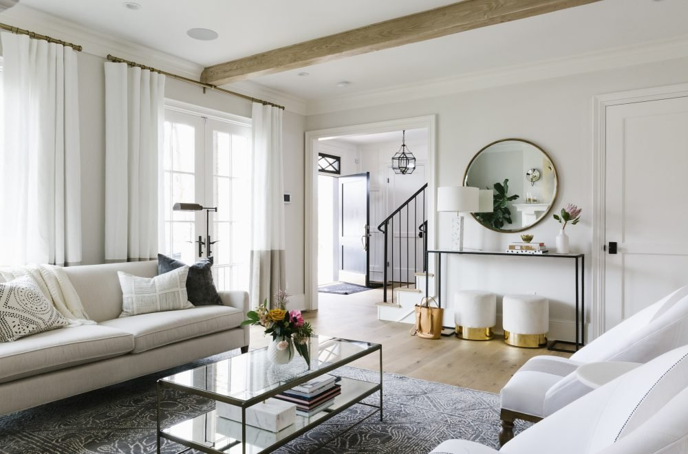 Calm and collected living room