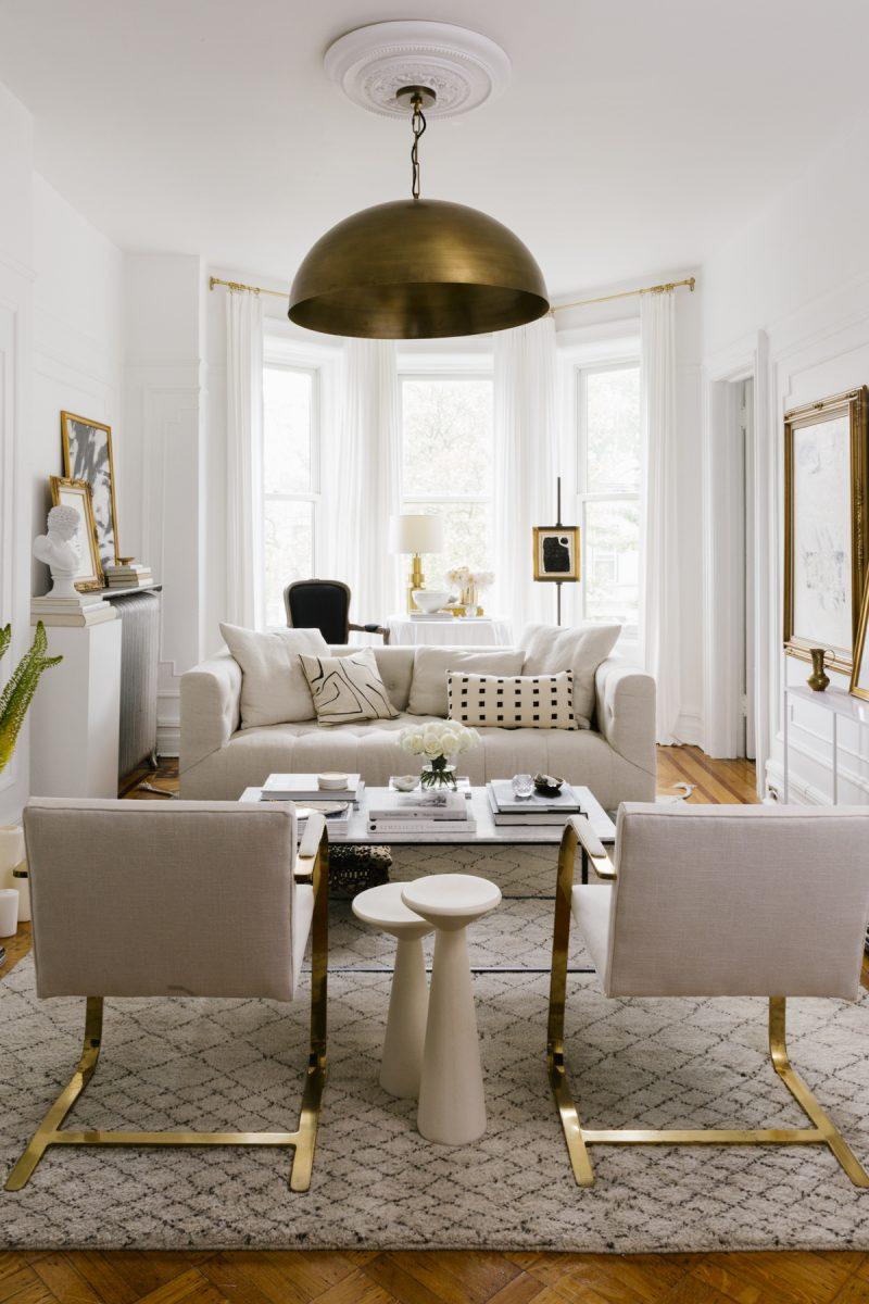Parisian Modern Living Room