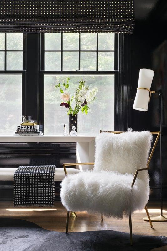 Luxe bedroom corner