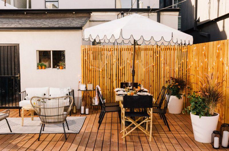 Backyard Privacy Fence
