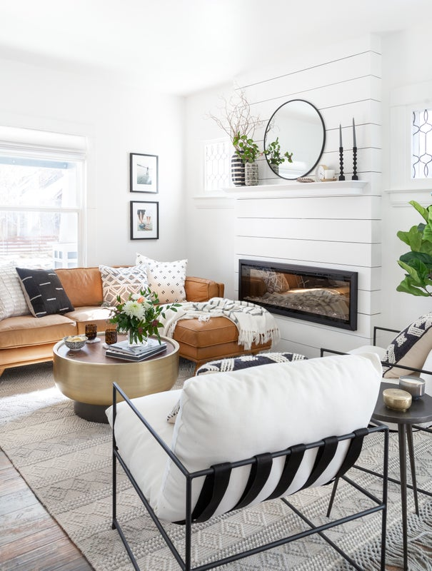 Small space family room