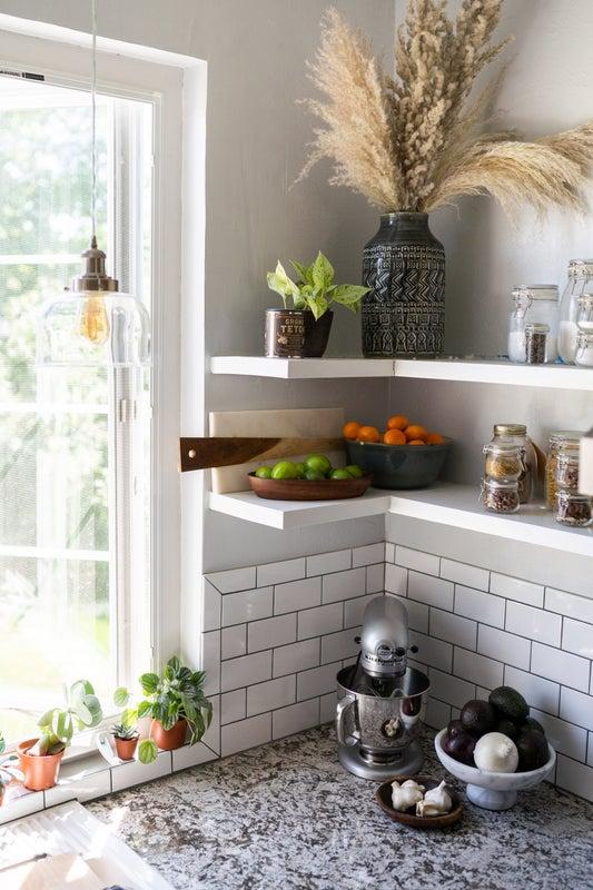 Organic White Kitchen