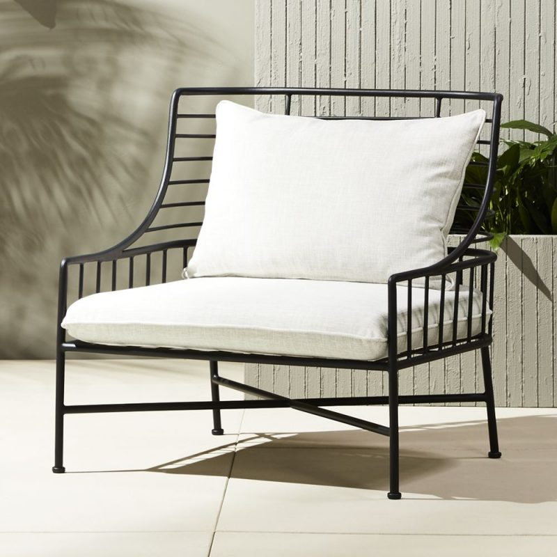 Metal Outdoor Chair